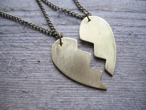Broken Heart Friendship Necklace