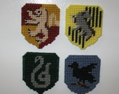 Harry Potter House Crest Refrigerator Magnets