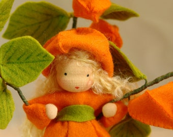 Physalis - Flower Child - Waldorf  Inspired - Nature Table