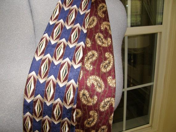 2- Bill Blass Black Label Men's Silk Ties
