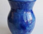 Ceramic Vase Royal Blue