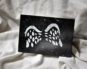 Artist Trading Card - Wings