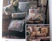Simplicity Home Decorating Pillow Pattern 4763 Uncut/Unused