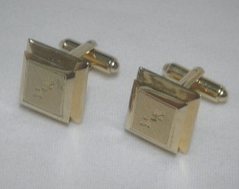 Shields Mens Cuff Links - Vintage