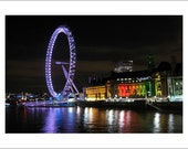 Blank Photo Greeting Cards (assorted set of 5) - London