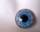 Craft supplies for jewelry making glass eyes 25mm cabochons for pendants or wirewrapping