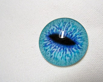 Glass eyes 25mm for jewelry making