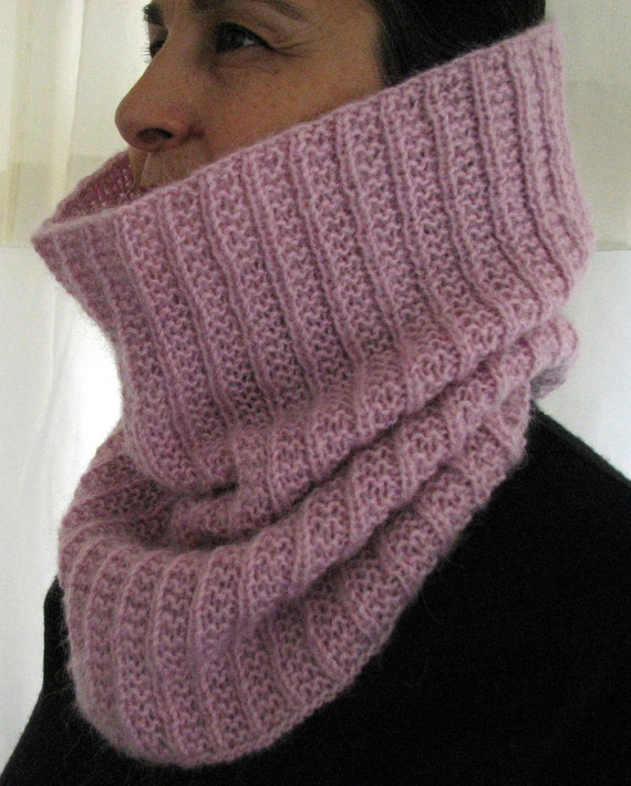 RosePink Neck Warmer - Comes with a Headband Gift