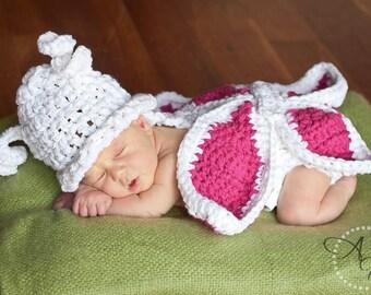 Crochet Butterfly Critter Cape