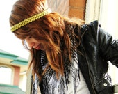 Crochet Simple Hippie Headband