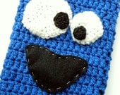 RESERVED for Kate: Cookie Monster Ipad Case