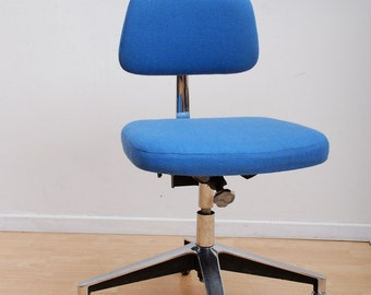 Mid Century Modern Vintage Office Chair Nelson Eames Era