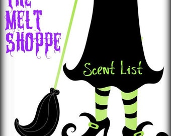 The Melt Shoppe Scentlist