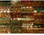 ORIGINAL PAINTING Impasto Abstract 30x40 Modern Wall Art  By Thomas John
