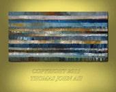 ORIGINAL PAINTING Abstract  Large 24X48 Modern Art  By Thomas John