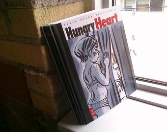 Graphic Novel Hungry Heart modern thriller affordable reprint comic book