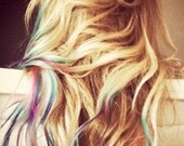 TWENTY Itip or Utips - Lauren Conrad Inspired - Dip Dyed - ///////////O M B R E hair extensions