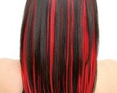 Hair Red - Vampire Red iTip Hair Extensions - Snookie from Jersey Shore's Hair Do - Get Snookies Look Here
