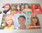 RESERVED for pixleescent 1975 to 1977 Seventeen magazines - choose one or all of them