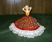 Pin cushion doll - Colonial style pin cushion doll