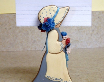 Note holder, ceramic note holder, decorative note holder