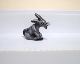 Burro, ceramic burro, Miniature ceramic burro