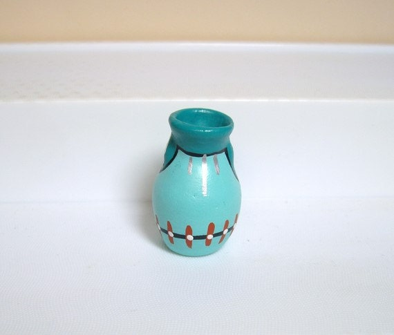 Ceramic miniature - Indian vase