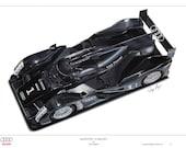 Audi R18 TDI Le Mans 2011 Limited Edition Art Print