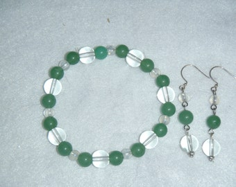 Light Green Stretch Bracelet
