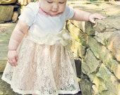 Shabby Chic Vintage inspired infant Easter dress EtsyKids Team