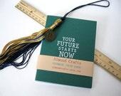 Graduation Card Set, Graduation Note Cards, Notecards, Handmade, Forest Green