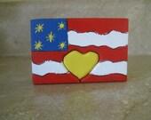 USA Flag  Love Chunk