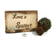 Rustic Wedding table signs.  Candy buffet, candy table, treat table.