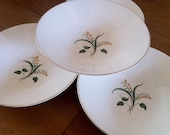 Knowles Forsythia China Fruit Bowls