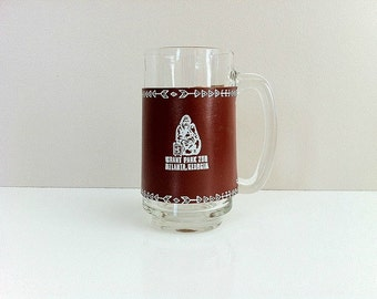 Vintage Atlanta Memorabilia Atlanta Zoo Willie B Souvenir Glass