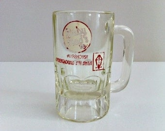 Vintage Atlanta Collectable Ruby Reds Warehouse Underground Souvenir Mug