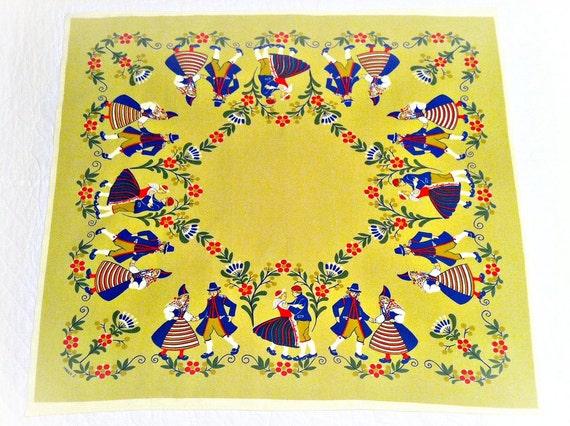 Pennsylvania Dutch Table Cloth Linen