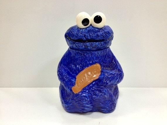 Cookie Monster Vintage California Originals Cookie Jar