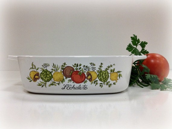 Vintage Corning Ware Spice O Life Casserole