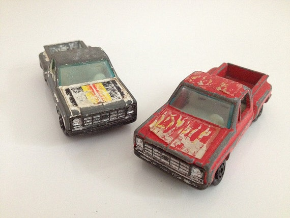 Vintage Chevy Stepside C10 Trucks Diecast Yatming
