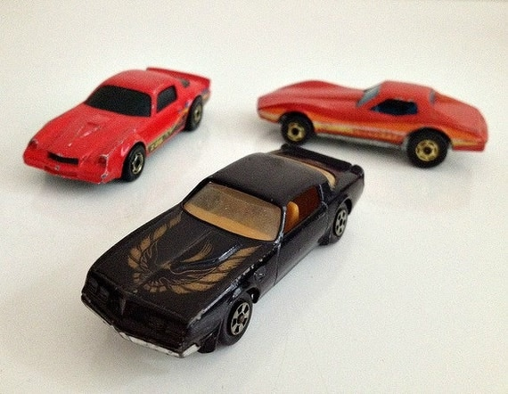 Hot Wheels Camaro Corvette Trans Am 1970s