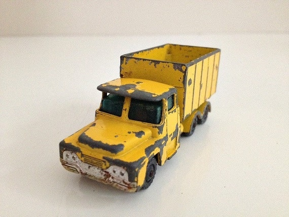 Vintage Toy Truck Guy Warrior Husky