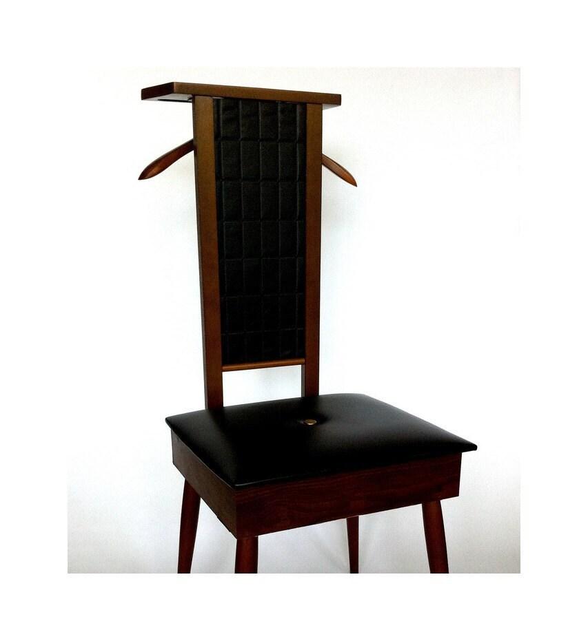 Mid Century Modern Valet Butler Chair