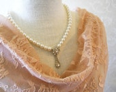 Mother of the Bride Necklace, One of a Kind Necklace, Rhinestone Bridal Necklace, Weddings, Wedding Party