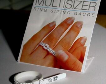 Ring sizer reusable