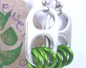 Lime Green Earrings - Donation made to Ronald McDonald House with your purchase