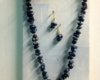 Chunky Lapis Necklace