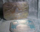 Embossed Washington D.C. Souvenir Trivets