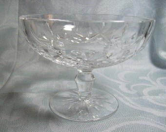 Waterford Lismore Footed Compote 6""