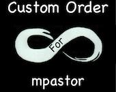 Custom Order for mpastor